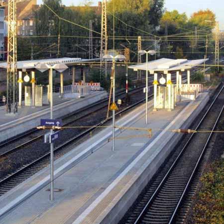 Dortmund-Hörde: Abdichtung einer Gleisunterführung ohne Beeinträchtigung des Bahnverkehrs