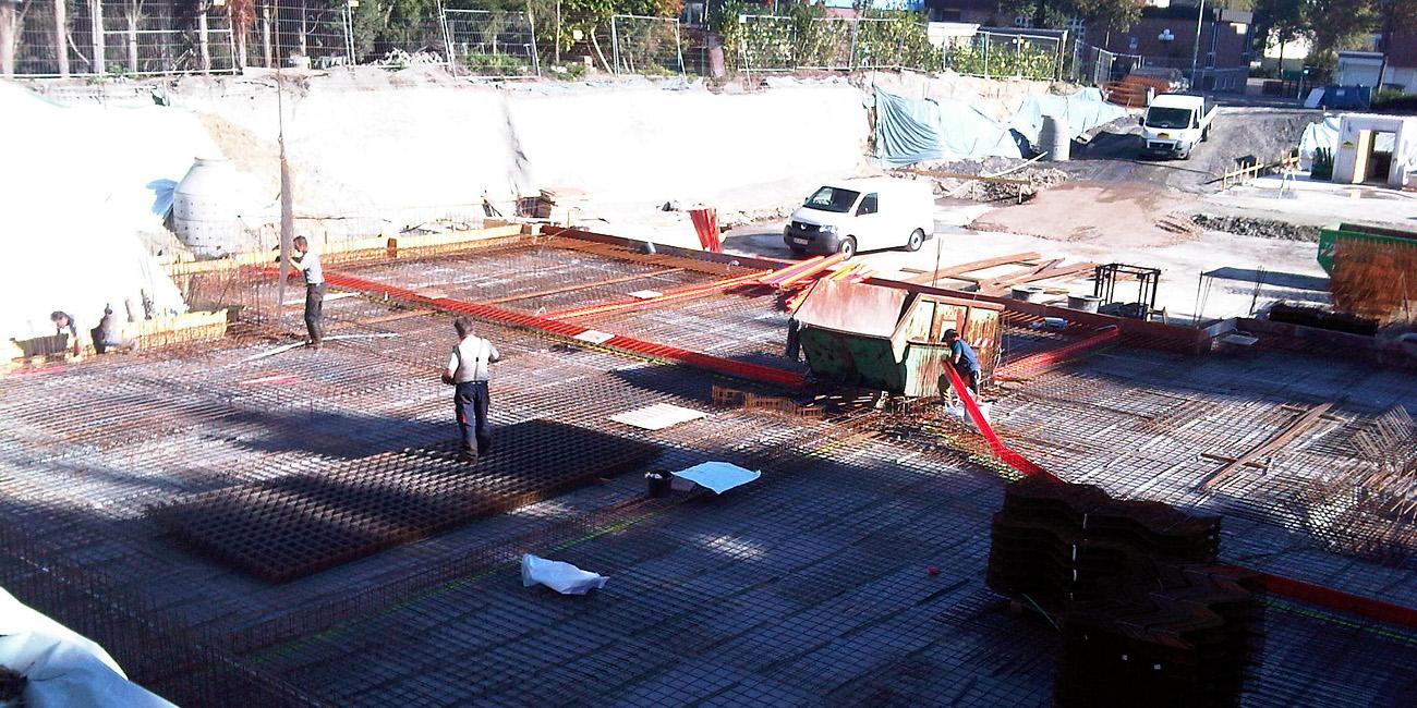 Herne: Neubau einer Wohnanlage mit einer DrytechWanne