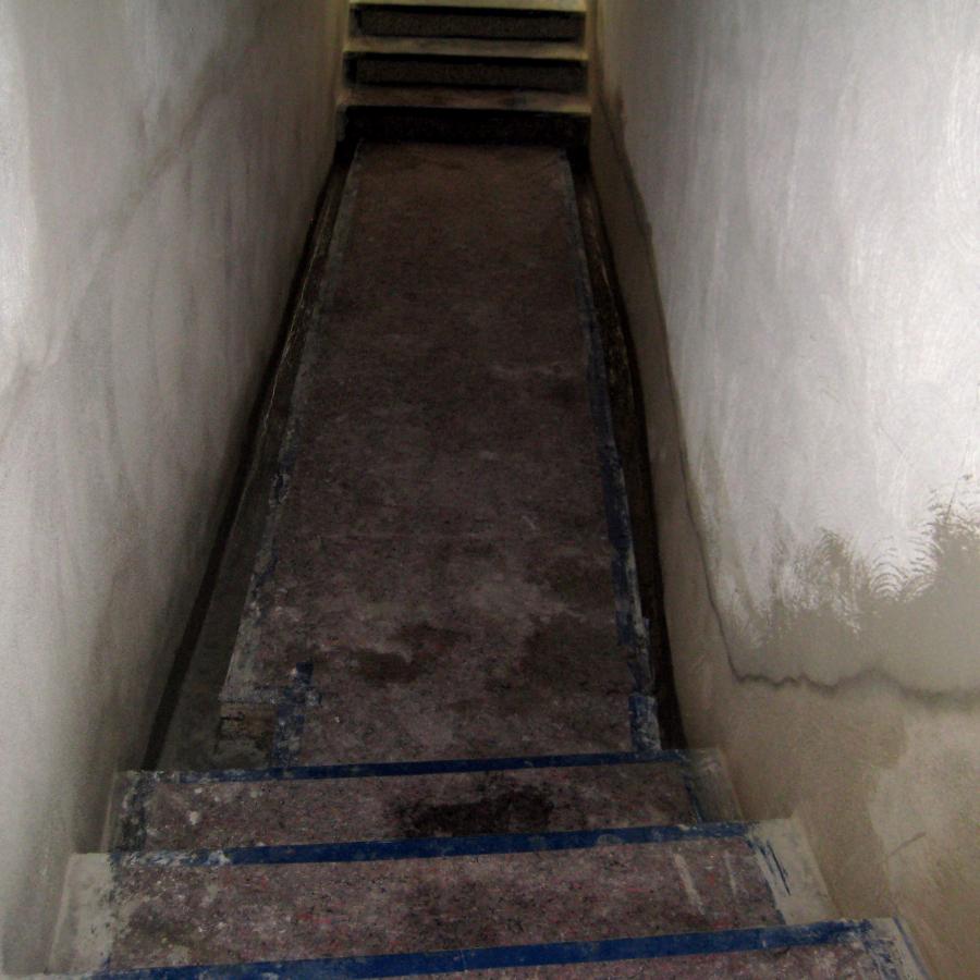 Monschau: Kellersanierung unter schwierigen Bedingungen