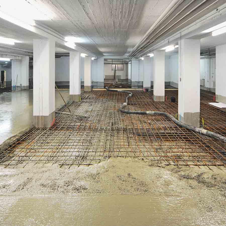 Berlin-Kreuzberg: Sanierung einer Tiefgarage